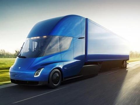 Primeur: Rotterdamse transporteur koopt eerste Tesla-vrachtwagen