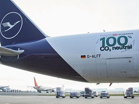 Eerste CO2-neutrale vrachtvlucht voor Lufthansa Cargo