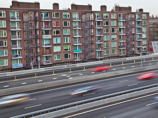 De gevaarlijkste snelweg van Nederland ligt in Amsterdam