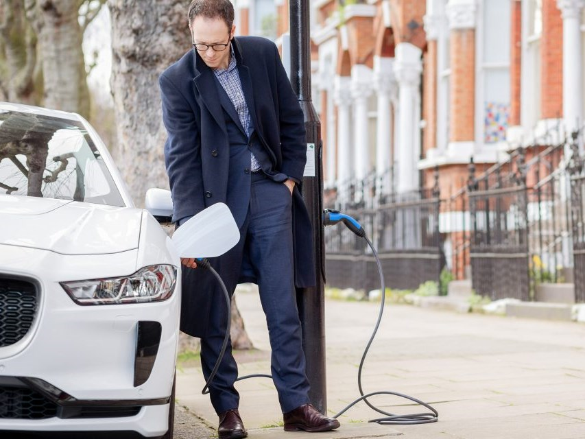 Charge your car at any lamppost in London's first 'Electric Avenue'