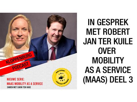 In gesprek met Robert Jan ter Kuile over nieuw platform door OV bedrijven (MaaS, Deel 3)