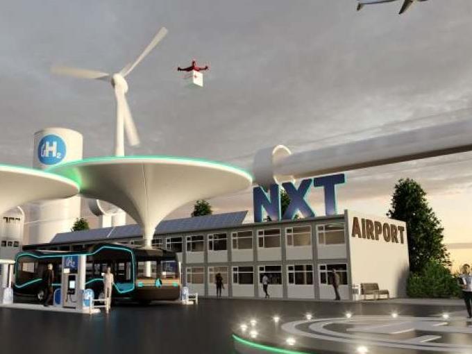 Waterstof en elektrificatie: luchthaven van de toekomst in Noord-Nederland