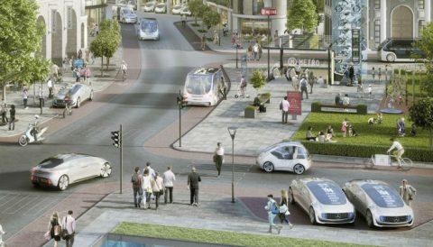 'Zonder passend beleid slibben steden dicht door automatische auto's'