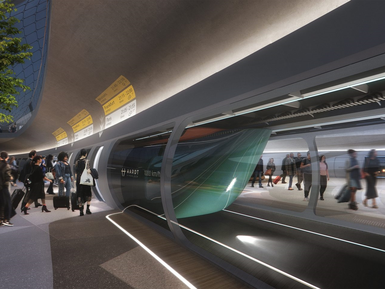 Hyperloop Development Program will investigate freight transport via tube network