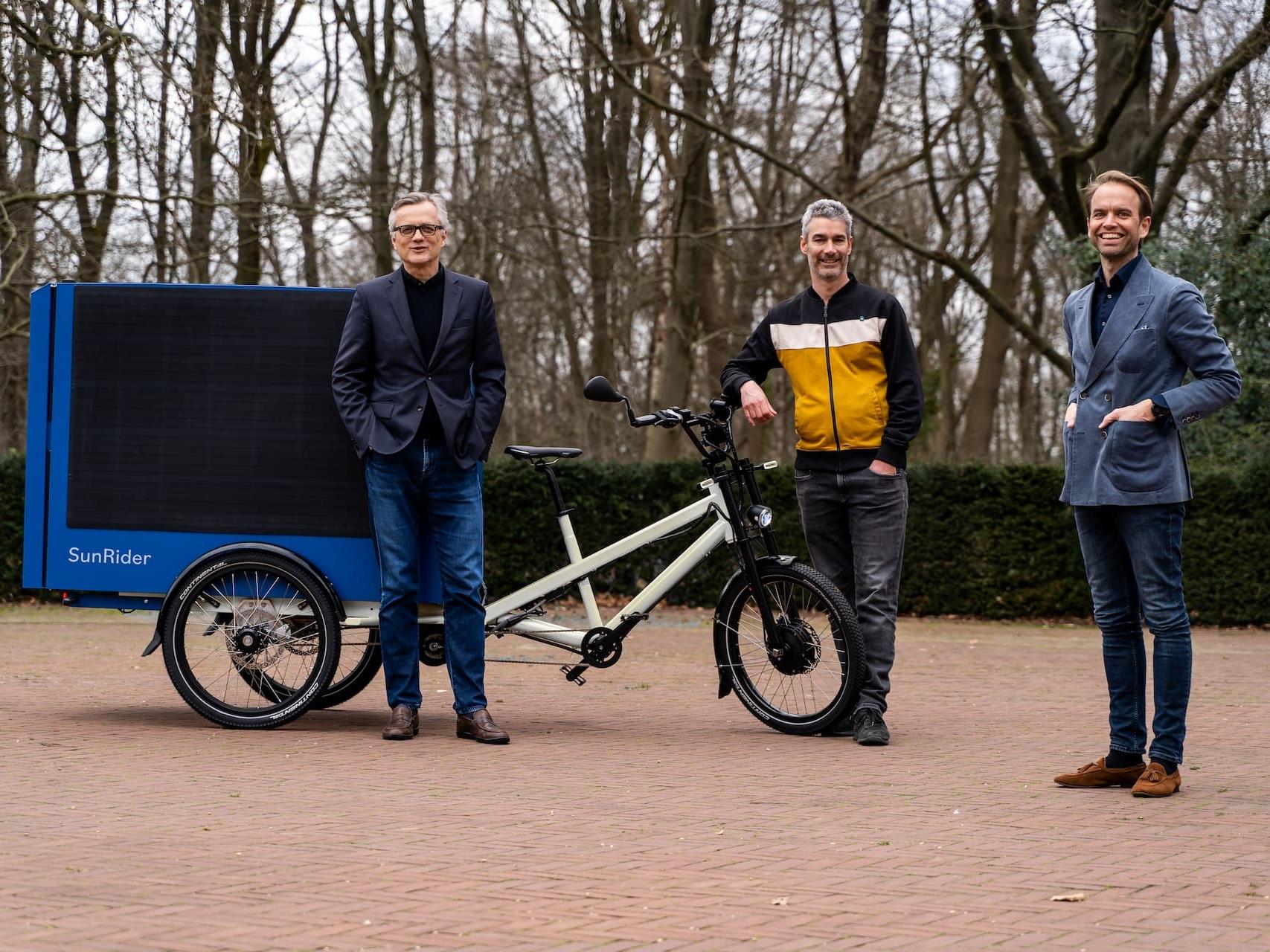 Need The Globe lanceert SunRider: de eerste Solar Cargo E-Bike ter wereld