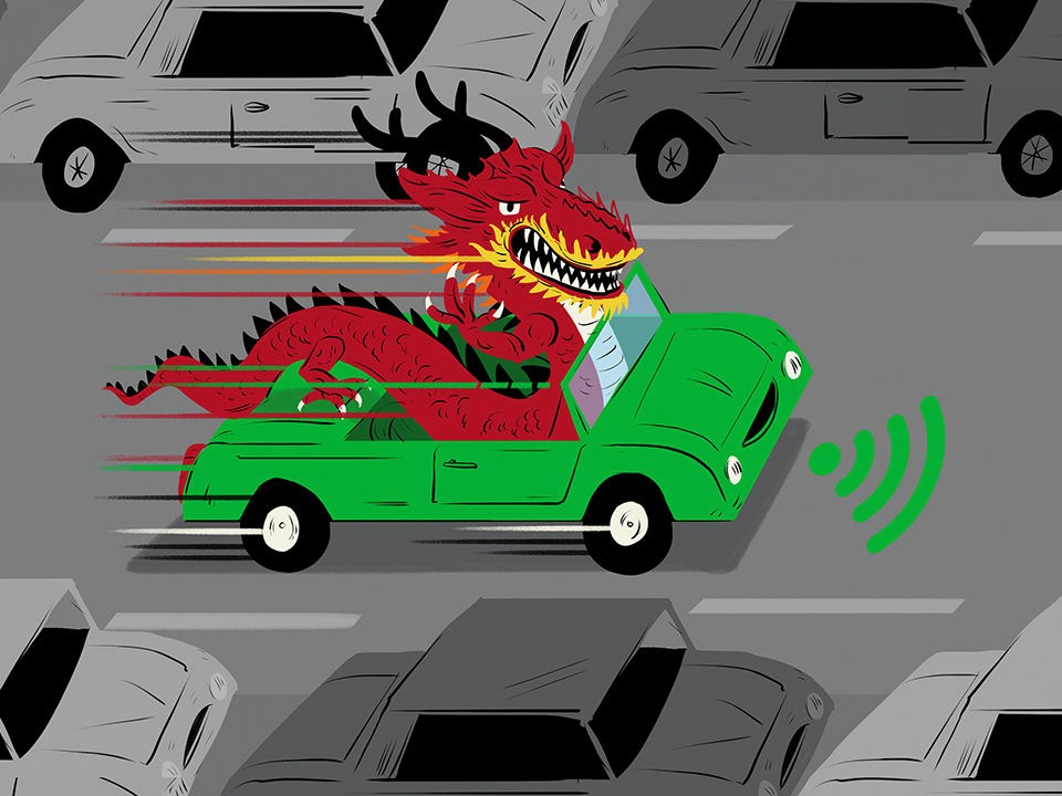 Chinese firms are taking a different route to driverless cars