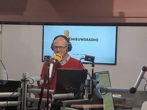 Michel Peters, CEO Koninklijke NLR, in podcast BNR over verduurzaming luchtvaart.