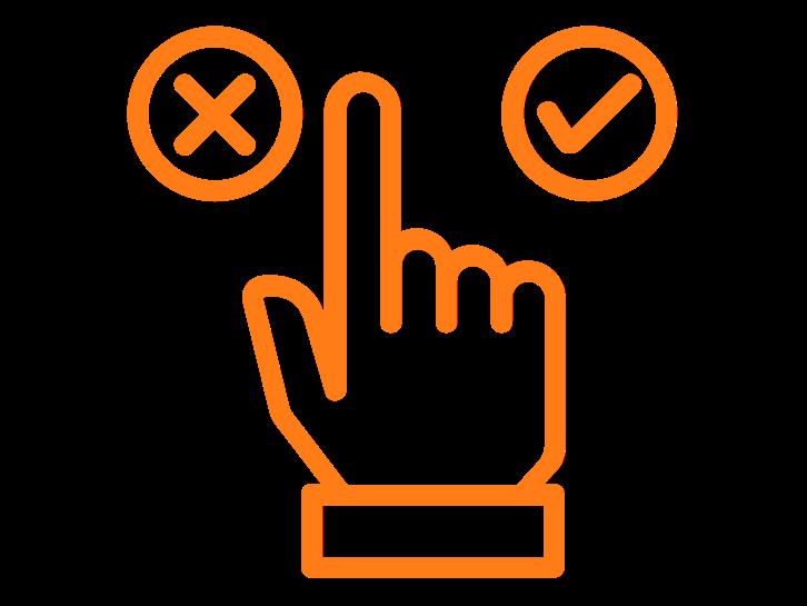Feedback op ideeën: opmerkingen, leuk en niet leuk en stemmen