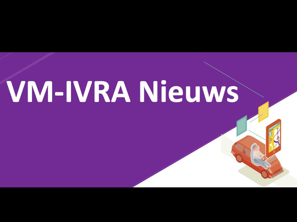 VM-IVRA nieuws van de projectmanager (juli)