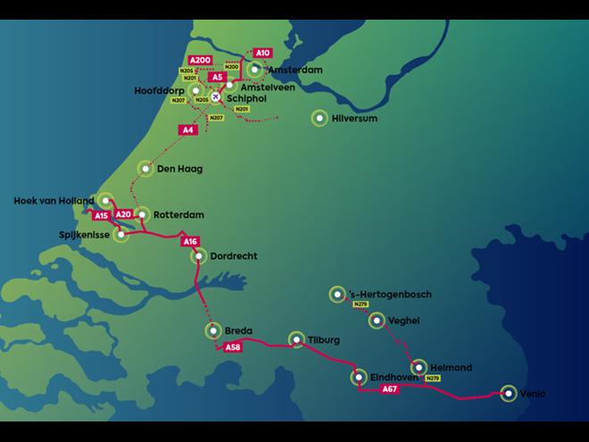 Nieuwe fase voor Connected Transport Corridors