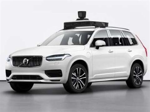 Uber en Volvo tonen productieklare autonome auto