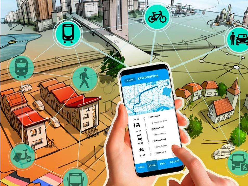 Mobility as a Service:  van infragedreven naar datagedreven beleid