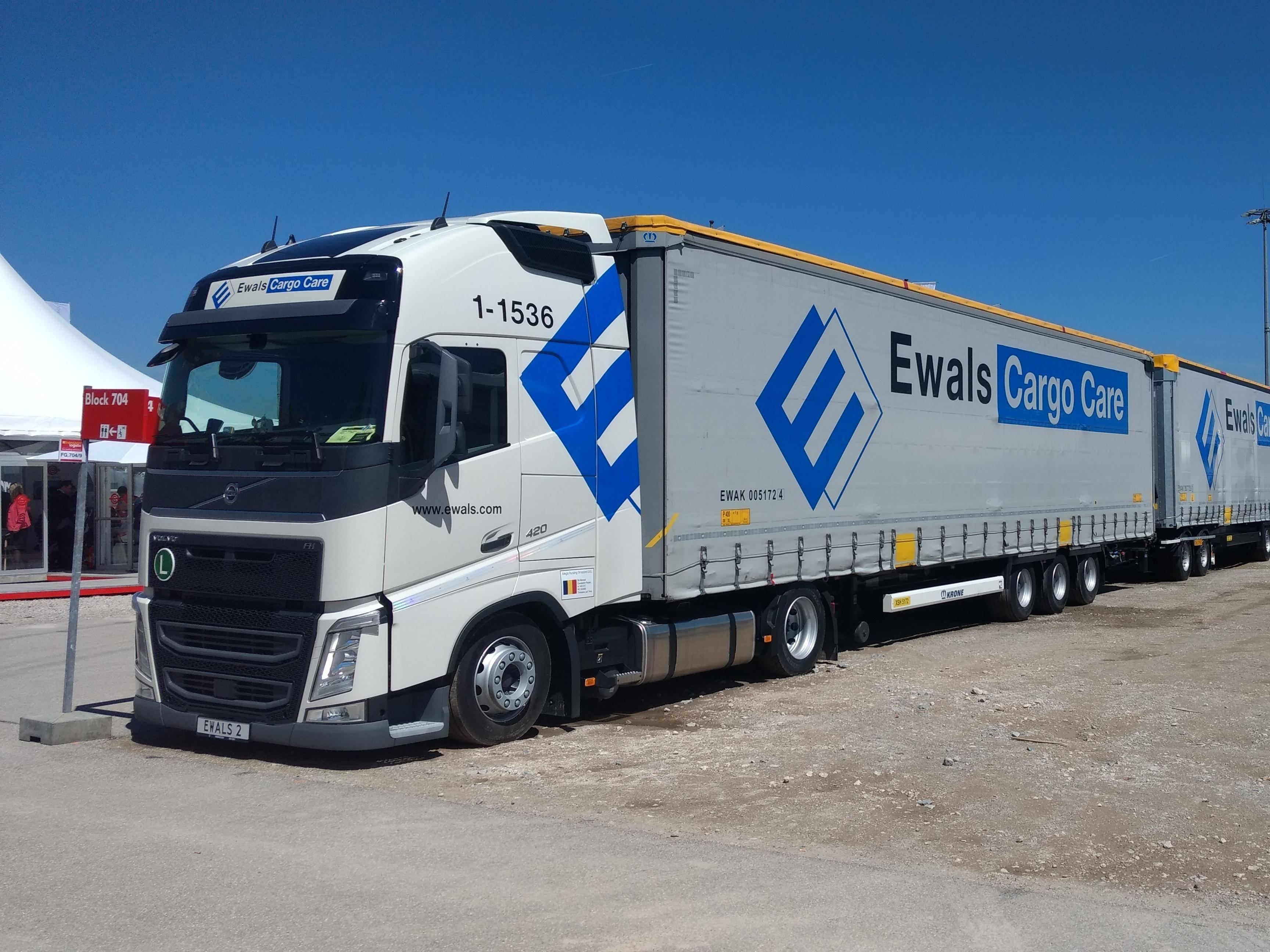 Truckfabrikanten willen super-LZV's door heel Europa