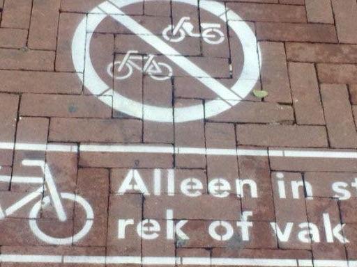 Gemeente komt met fietswielklem