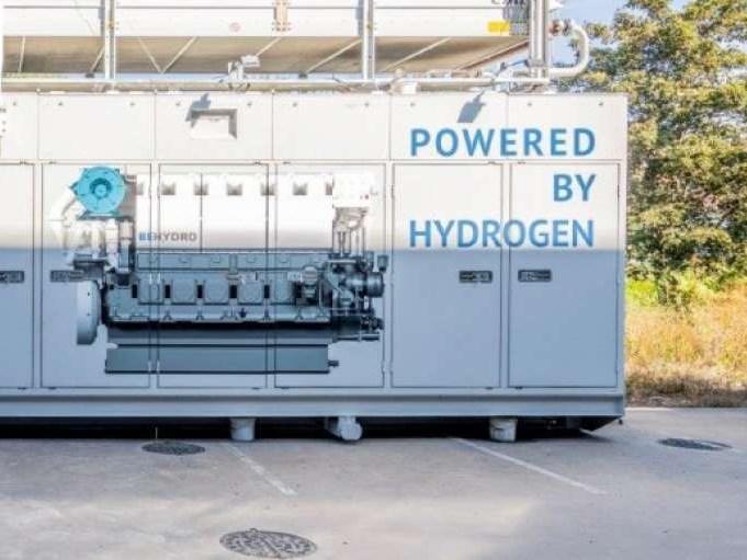Hybride motor uit Belgie draait deels op waterstof