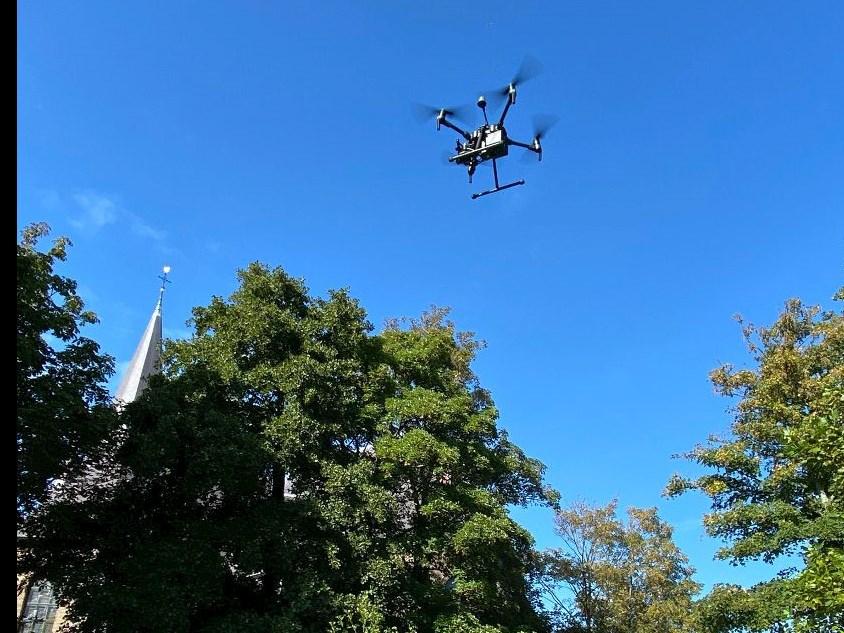 Drones maken (on)veiligheid zichtbaar