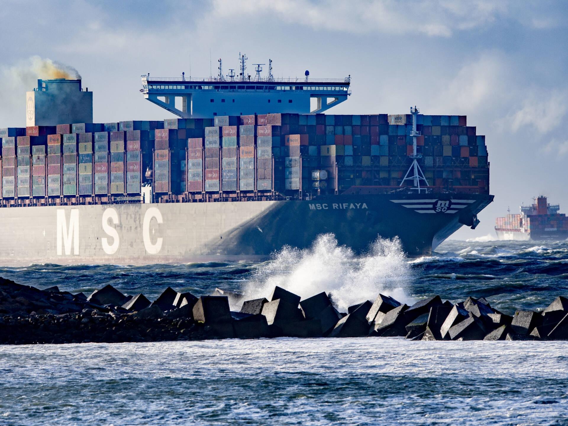 Europees Parlement: 'Scheepvaart moet per 2050 uitstootvrij'