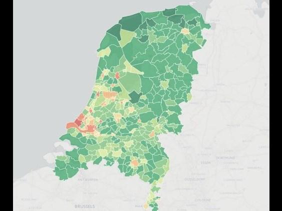 Monitor Groen Grijs