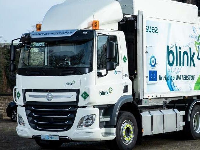 Vuilniswagens op waterstof in Noord-Brabant als onderdeel van groot Europees project