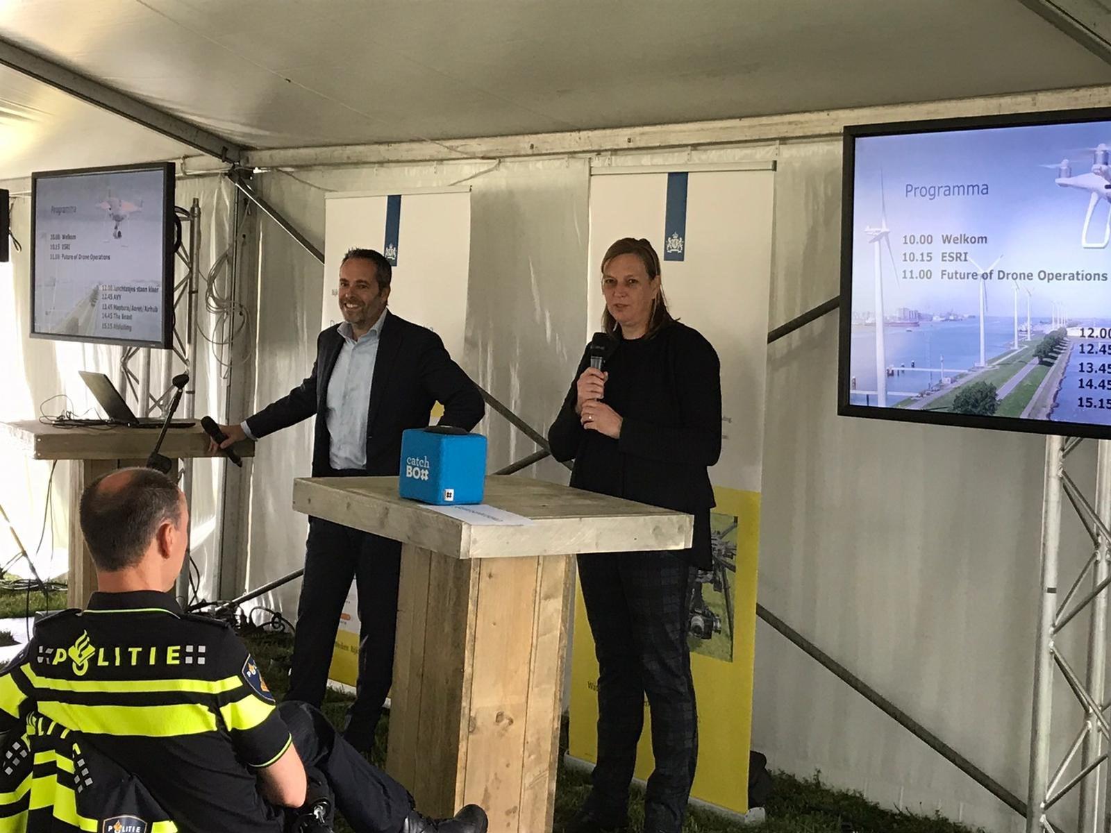 Geslaagde demodag Drone2Go bij verkeerspost Nijmegen