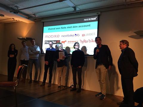Voorbeeld voor de markt: deelfietsaanbieders organiseren MaaS-interoperabiliteit