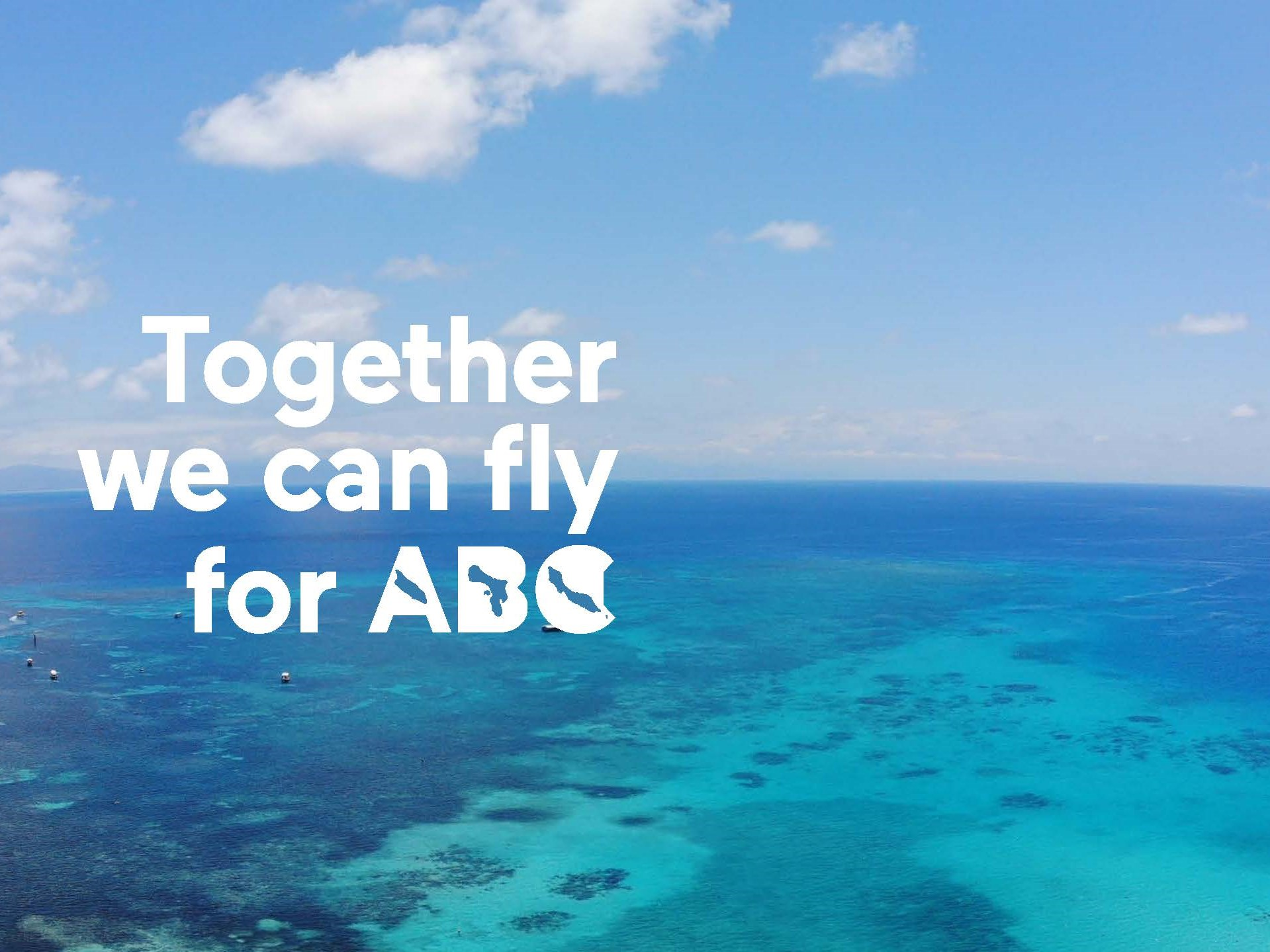 Ministerie IenW en de ABC-eilanden organiseren de Koninkrijksdialoog ''Together we can fly for ABC'.