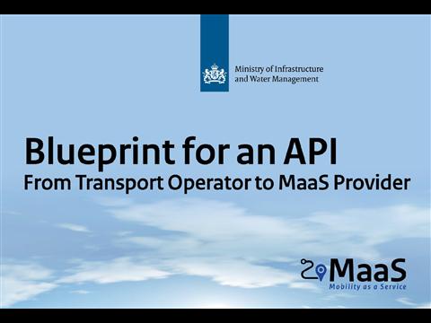Blauwdruk API (versie 1.0) voor MaaS-ecosysteem