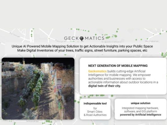 Geckomatics - smart mobile mapping