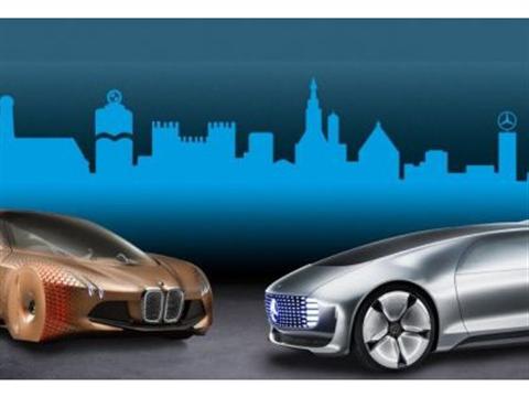'Over 5 jaar zelfsturende BMW's en Mercedessen'