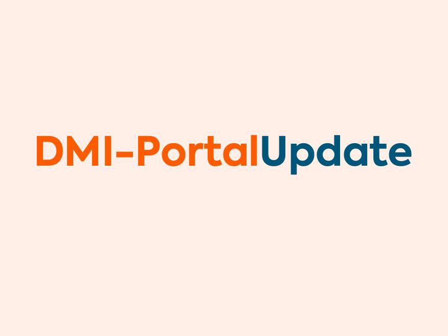 DMI-PortalUpdate #2 - februari 2021