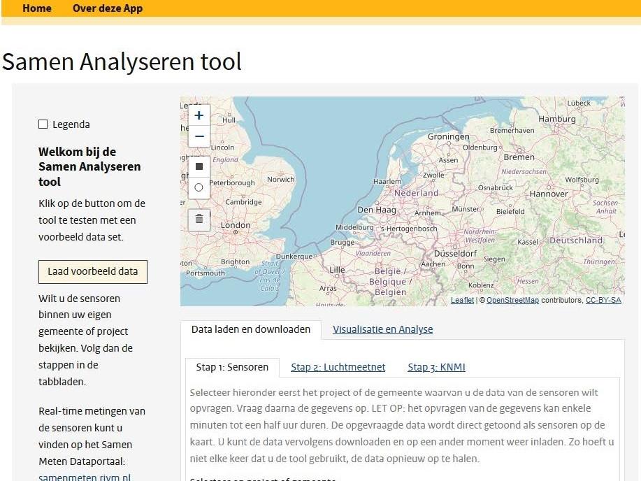 Samen Analyseren Tool