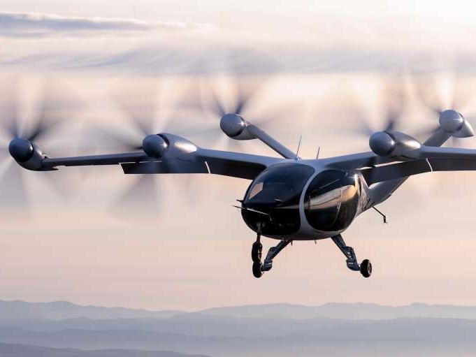 Deze vliegende taxi is ook nog eens goed voor het klimaat