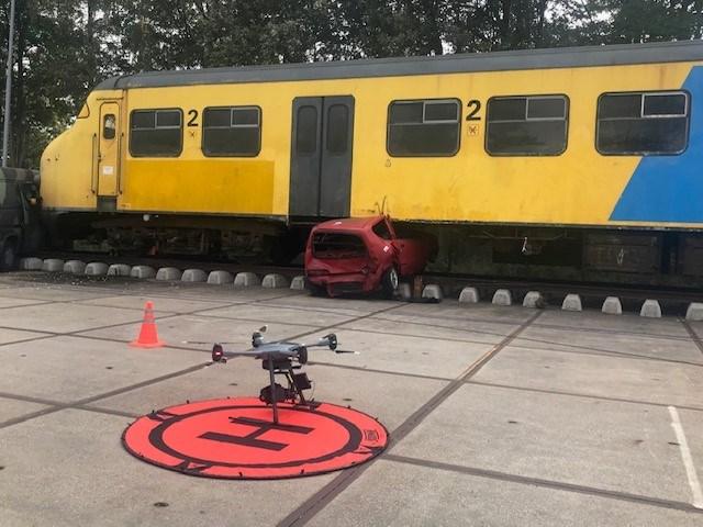 'Tom-Tom' voor de lucht en andere demo's bij de sprintsessies Drone2Go bij Space 53 in Enschede
