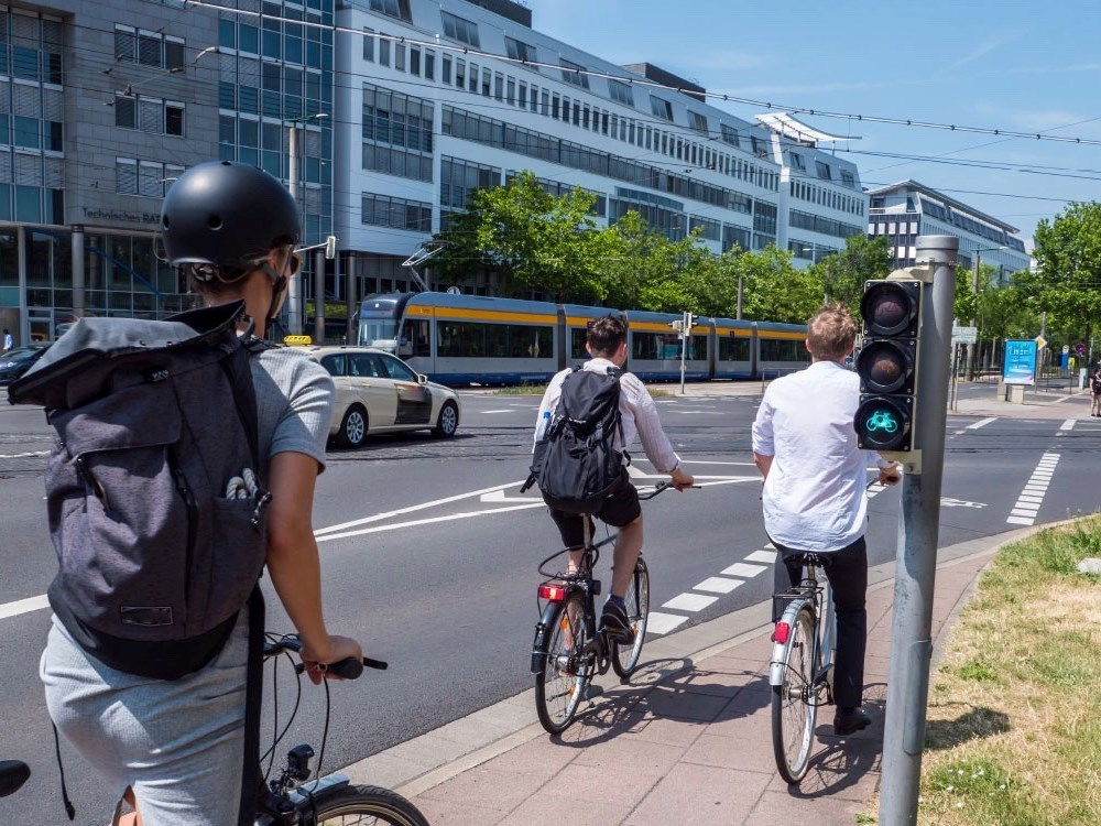 Groene golf voor Talking Bikes
