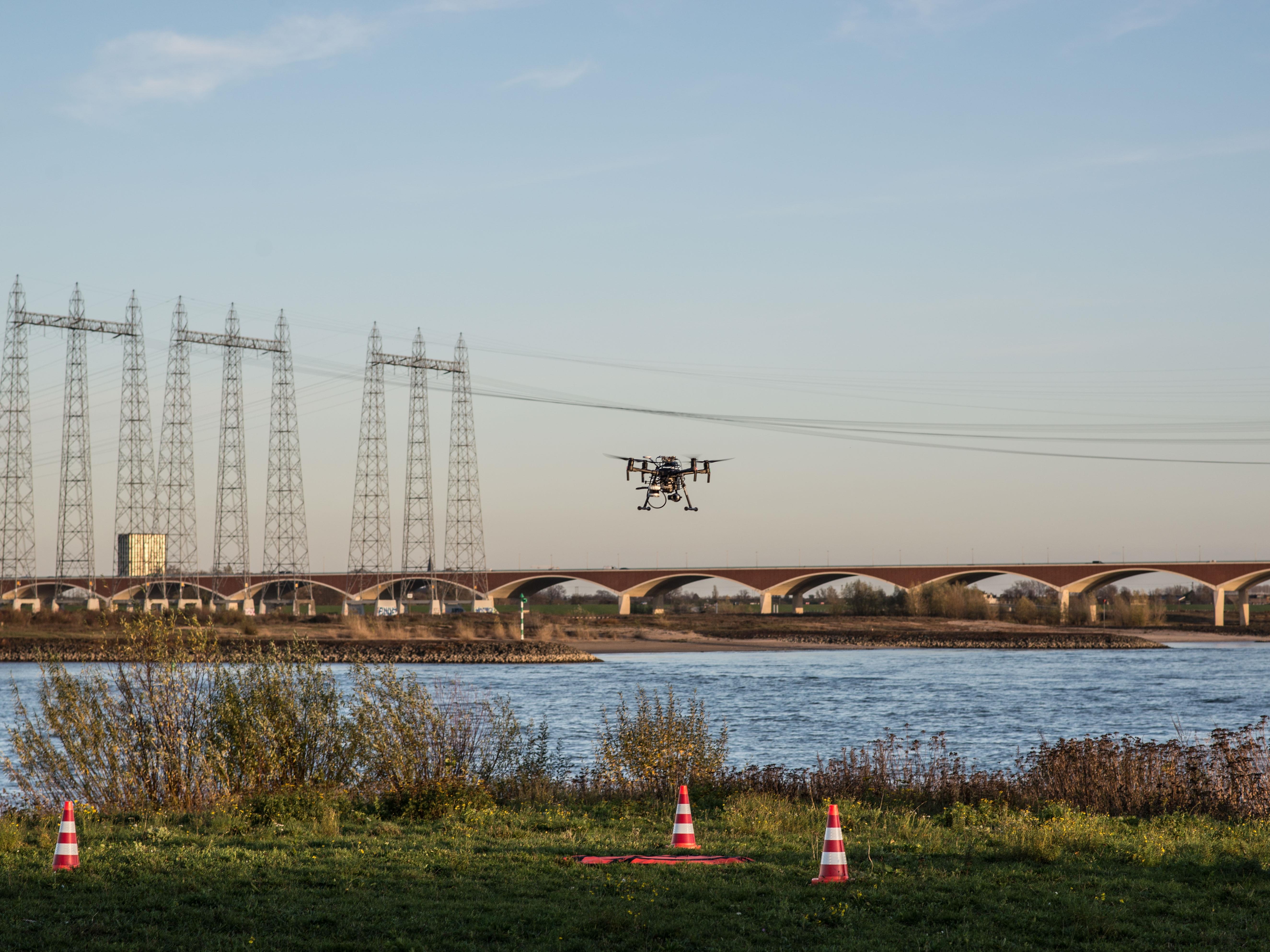 Minister opent praktijkgebied Drone2Go