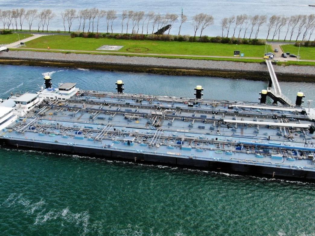 Een mooi begin van de week in samenwerking met Mapture.ai Rijkswaterstaat en Havenbedrijf Rotterdam