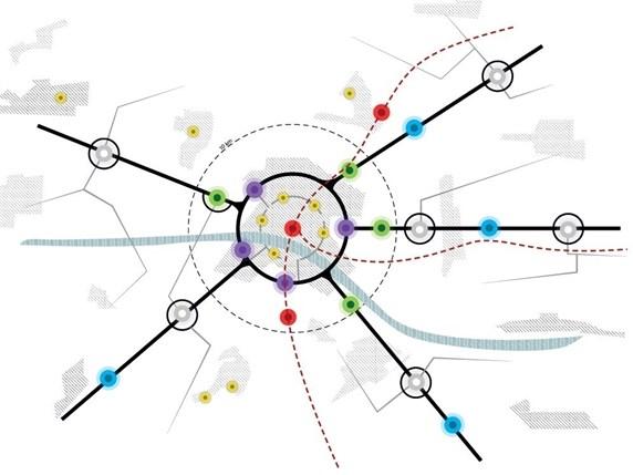 Multimodale hubs hebben de toekomst in de stad