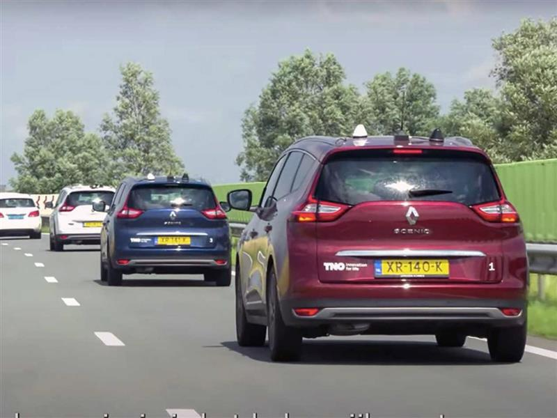 Unieke test bij Schiphol met zelfrijdende auto