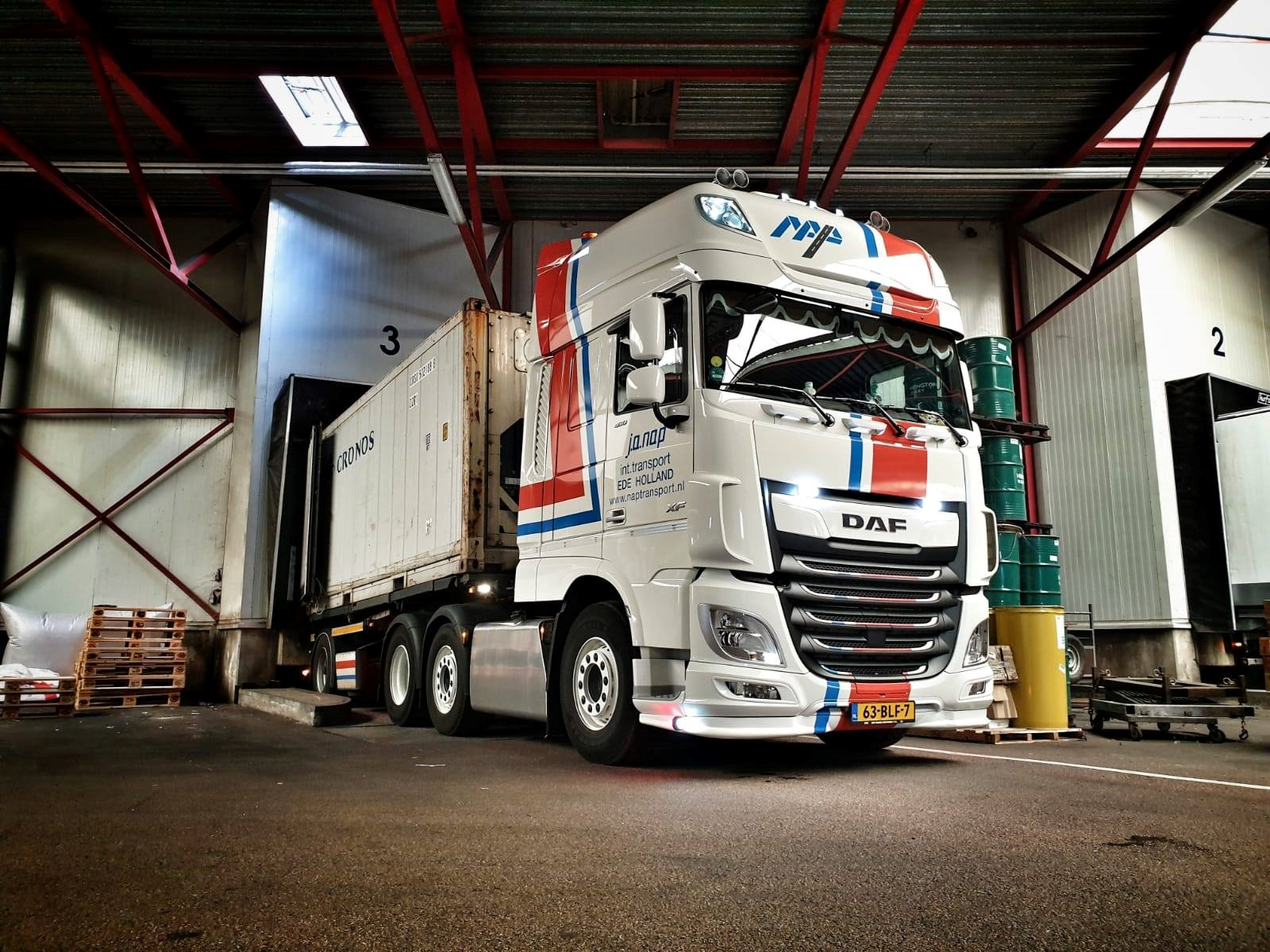 Innovaties: Nap Transport is er graag vroeg bij