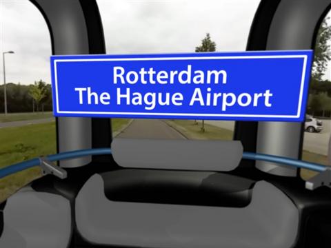 Zelfrijdende Airport Shuttle een stap dichterbij