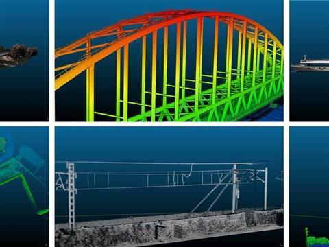 Demoproject LiDAR inspectie Schalkwijkse bruggen en cruise schip