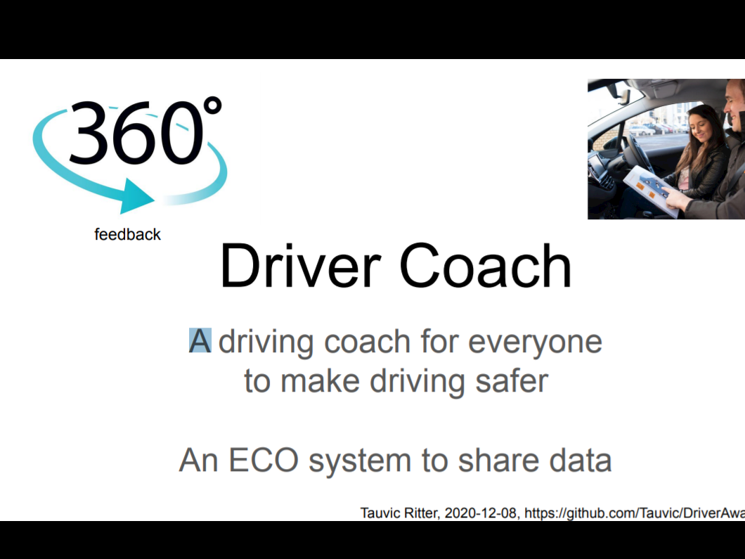 The Safe Driver Coaching System