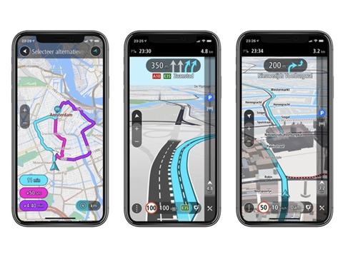 Nieuwe navigatieapp van TomTom voor iOS ondersteunt Apple CarPlay