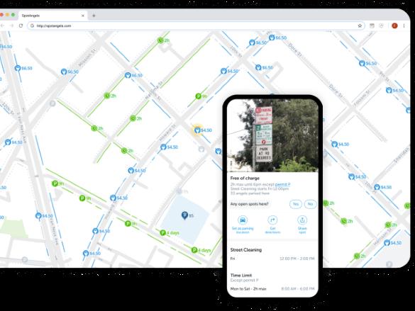Spot Angels- Smart parking