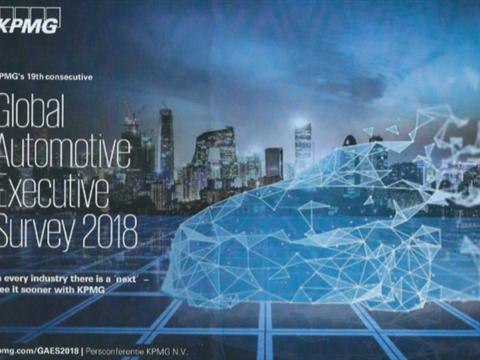 KPMG: auto-industrie verliest terrein op techbedrijven