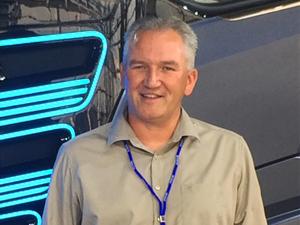 Marcel Pater, hoofd wagenparkbeheer, Peter Appel Transport BV