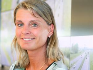 Joelle van den Broek, Principal Consultant Smart Mobility bij TNO Traffic and Transport.