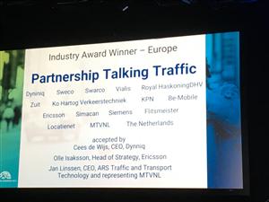 ITS Hall of Fame Award - Partnership Talking Traffic