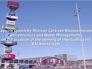 'Keynote speech minister Cora van Nieuwenhuizen, Intertraffic 2018