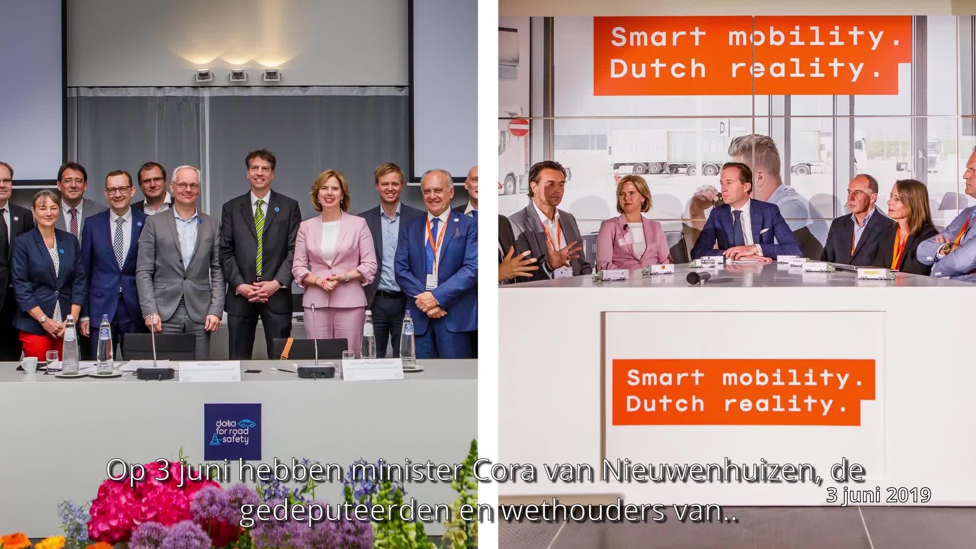 Sterker door samenwerking, organisatie van Smart Mobility